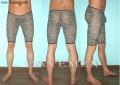 豹纹男式式中腿袜裤*2198*