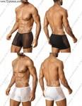 透视组合设计男平角裤*3119*