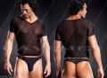 短款男T恤与经典男丁裤组合套装*3122*