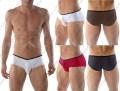 前裆水滴造型的男三角裤*3258*